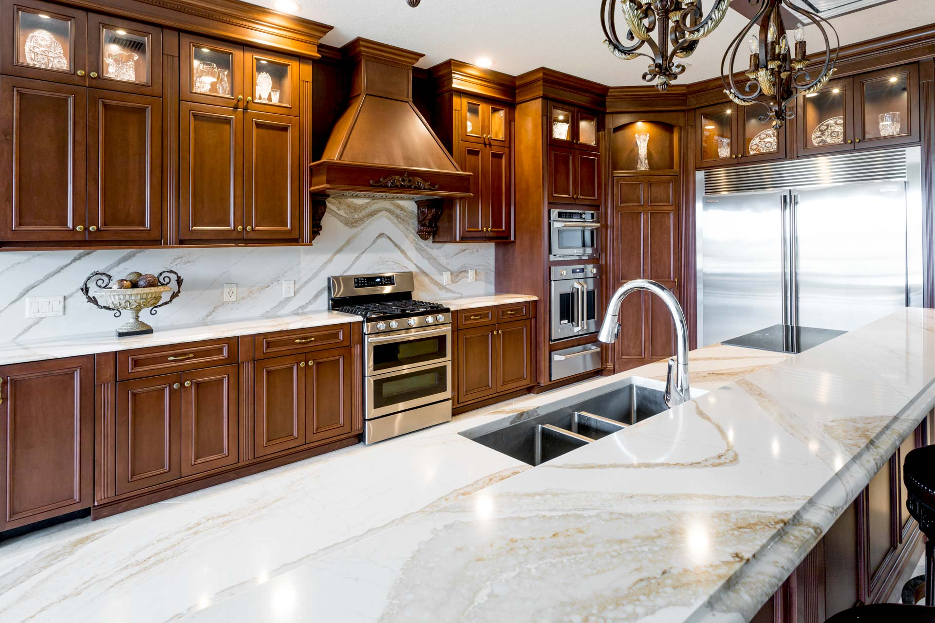 McADAMS KITCHEN. Solid Image Inc. Leesburg Florida. Corian Quartz Granite countertops